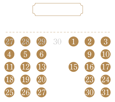 営業日カレンダー202107